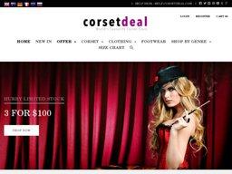CorsetDeal screenshot