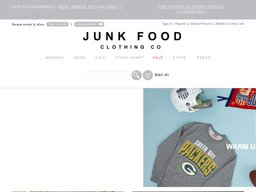 Junk Food Clothing screenshot