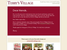 Terry's Village screenshot