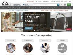 Build.com screenshot