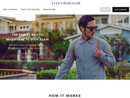 Five Four Club screenshot