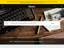 iStockphoto screenshot