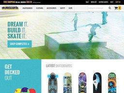 Warehouse Skateboards screenshot