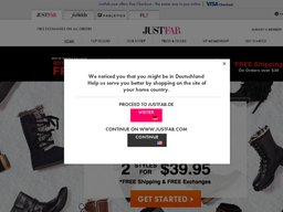 JustFab screenshot