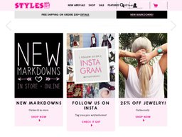 Styles For Less screenshot