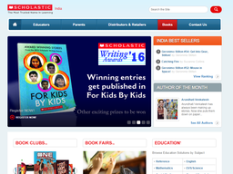 Scholastic screenshot