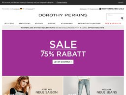 Dorothy Perkins screenshot