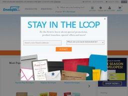Envelopes.com screenshot
