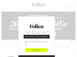 Folica screenshot